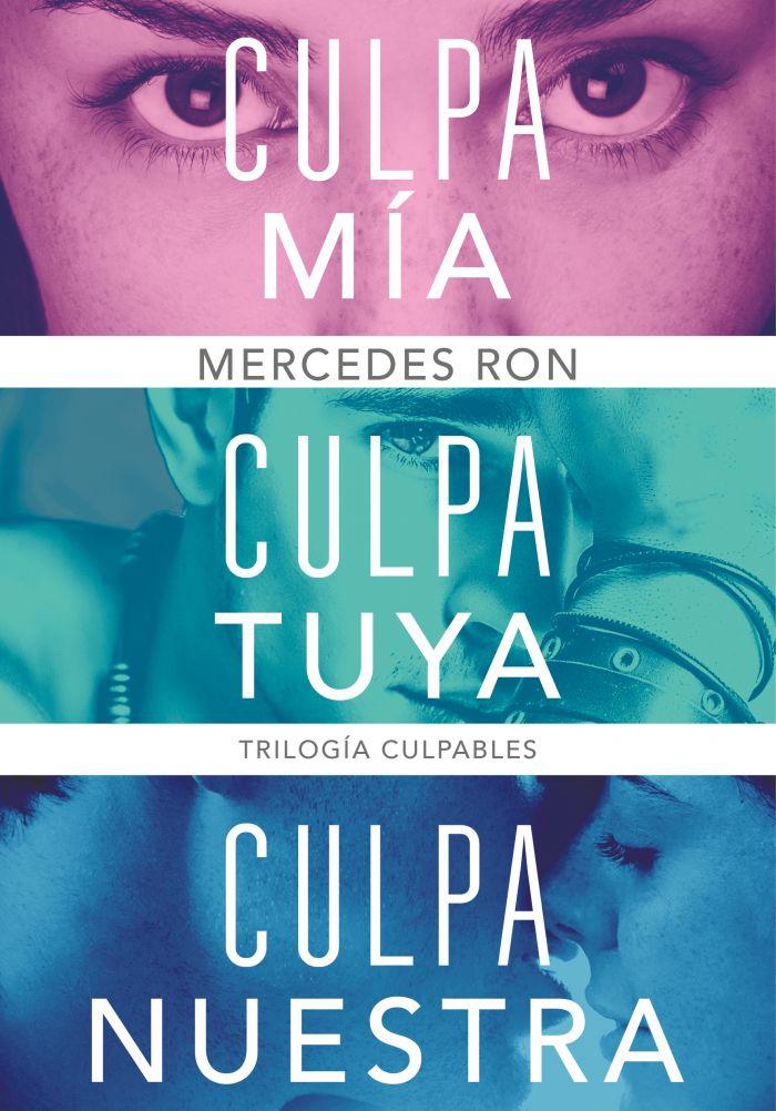 TRILOGÍA CULPABLES (PACK CON: CULPA MÍA | CULPA TUYA | CULPA NUESTRA).  MERCEDES RON. ebook. 9788418798054